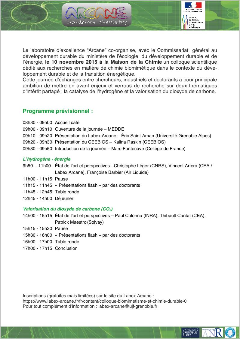 10NOV page programme